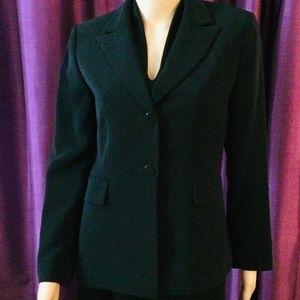 Tahari Jacket, Black, Size 4P